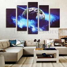 Modern XXL Leinwand Bilder Kustdruck Fertig! Erde Wandbild Wohnzimmer Wand  Deko