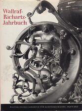 Wallraf-Richartz-ANNUARIO (BD. XXIII/1961) con numerose fig.