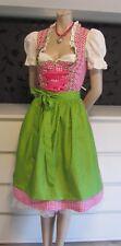 NEW Exclusive German Austrian 3pc. Dirndl Dress Blouse Apron 10