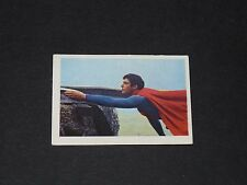 N°165 SUPERMAN THE MOVIE AGEDUCATIFS 1979 PANINI DC COMICS