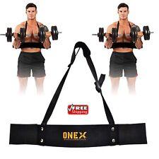 Weightlifting Arm Blaster Biceps Isolator Gym Support Strap Pro Bodybuilder Strp