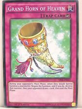 Yu-Gi-Oh 1x #037 Grand Horn of Heaven - SR04 - Dinosmasher's Fury Structure Deck