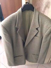 giacca verde Gialla Marrone lana blazer uomo taglia 50 Made Italy vintage