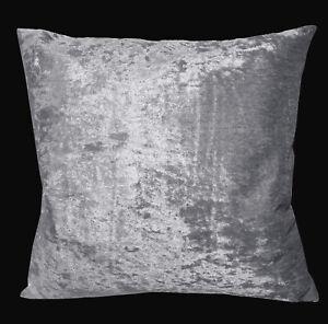Mv03a Silver Grey Diamond-Crushed Velvet Cushion Cover/Pillow Case *Custom Size*