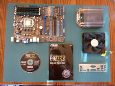 ASUS P8Z77-V LX Motherboard LGA 1155 Socket+CPU+16GB RAM+CPU FAN