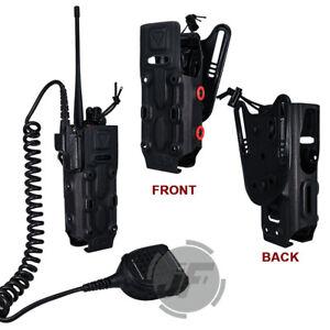 FCS Tactical Motorola Radio Pouch Shell Belt Loop for XTS5000 XTS3000 XTS2500