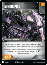 Transformers TCG: Mining Pick [Mint/NM] from set Wave 2 Rise of the Combiners Au