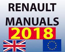 RENAULT DIALOGYS WORKSHOP MANUAL ENGLISH PARTS ALL MODELS 2018