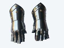 Medieval Steel Gauntlet Gothic Gloves Antique Knight Iron Gloves Gauntlets Armor