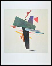 Kasimir Malewitsch Untitled 1916 Poster Kunstdruck Bild mit Alu Rahmen 90x70cm
