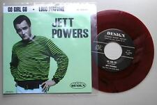"Jett poderes - ""ve Chica Go"" Top Class Bop en cera roja! escuchar ambos lados"