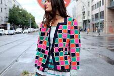 PIERRE CARDIN PARIS Damen Jacke Sakko jacket Bunt 90er True VINTAGE 90´s