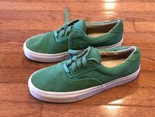 Vans Vault Era Size 11 Green Suede California Collection