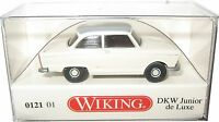 Wiking 012101 DKW Junior de Luxe perlweiß mit grauem Dach 1:87 HO