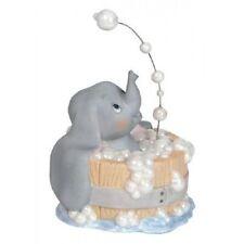New PRECIOUS MOMENTS DISNEY Figurine DUMBO ELEPHANT Bubble Bath PORCELAIN Statue