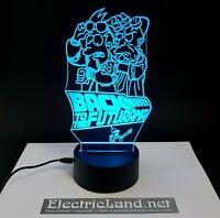 Futurama Fry Bender lampada luce notturna Led 3D Acrylic Night Light Lamp