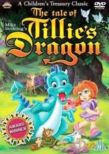 The Tale Of Tillies Dragon DVD R2 Childrens Classic Cartoon Mike Stribling - NEW