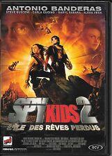 DVD ZONE 2--SPY KIDS 2 L'ILE DES REVES PERDUS--BANDERAS/BUSCEMI/RODRIGUEZ