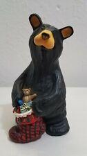 Bearfoots Bears Travis Big Sky Carvers by Jeff Fleming Figurine Christmas Theme