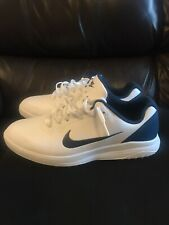Nike Infinity G Golf Shoes. Men's Size 11. White and Blue.