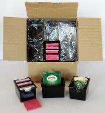 Restaurant Sugar Matches Caddy Container~Black Plastic~Wedding~Catering~ 24 Pcs