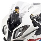 For BMW S1000RR 10-14 Hotbodies Racing Stock Replacement Clear Windscreen