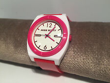 Reloj Watch Montre MISS SIXTY - Pink - STU011 - Quartz - Pink & White - 10 ATM