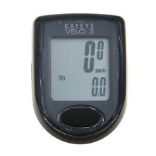CATEYE  CC-VL510 VELO5 Waterproof Black Bike Cycle Computer 5 Functions