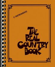 The Real Country Book Sheet Music C Instruments Real Book NEW 000125426