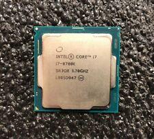 Intel i7-8700K Coffee Lake 3.7 GHz (4.7 GHz Turbo) LGA 1151 Unlocked | Six Core