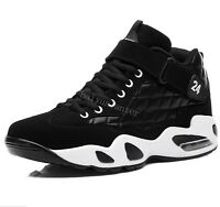 Men's High Top Basketball Sport Shoes Outdoor Running Sneakers Casual Trainers