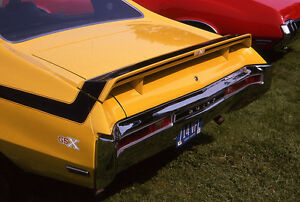 1970-1972 Buick Skylark GSX Showcars Rear Spoiler