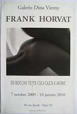 HORVAT FRANK AFFICHE 2010 POSTER GALERIE DINA VIERNY CROATIE PHOTOGRAPHIE