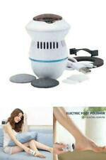 Foot File Vacuum Electric Callus Remover Rechargeable Foot Files Clean Tool Set