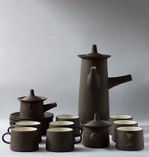 Jens harald quistgaard, coffee set and dessert/25 pieces, 1950/1960