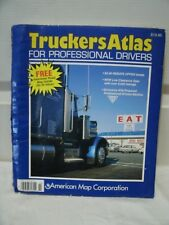 Vintage 1995 Truckers Atlas for Professional Drivers.  Good Condition.