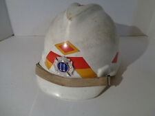 Hard Hat White Protective Cap Head Protection Construction Adjustable Fire Pin