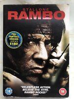 Rambo (18) Sylvester Stallone (DVD, 2008)