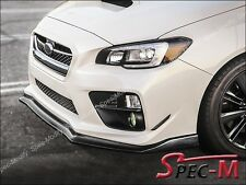 2015 SUBARU STI WRX CS TYPE CARBON FIBER FRONT BUMPER LIP BODY KIT