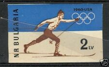 OLYMPIC WINTER GAMES SQUAW VALLEY 1960 BULGARY 1960 b