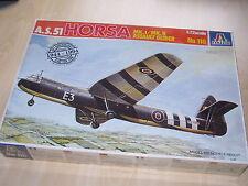Italeri 116, 1:72, a.s.51 Horsa Mk. I/Mk. II, Assault Glider, nuevo y en su embalaje original