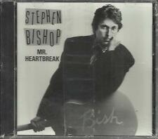 STEPHEN BISHOP Mr. heartbreak PROMO Radio DJ CD Single 1989 SEALED USA PR3110