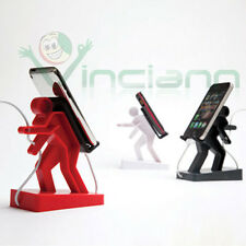 BORIS stand porta cellulare supporto tavolo cavi ordine per HTC Desire 620G