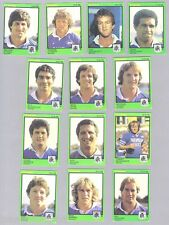 1982  NEWTOWN JETS  SCANLENS RUGBY LEAGUE CARDS