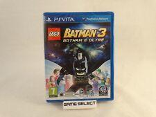 LEGO BATMAN 3 GOTHAM E OLTRE SONY PS VITA PSVITA PAL ITALIANO NUOVO SIGILLATO