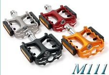 "Wellgo M-111 9/16"" MTB Pedals - red"