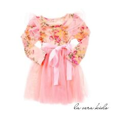 NEW Ella Dress For Baby And Kids - 4-5 Yrs Pink