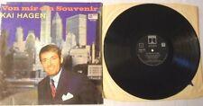 Kai Hagen - Von Mir Ein Souvenir - LP 1968 D - Saga - Ero 8063 Label