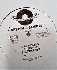 "Michael ""Kidd"" Gomez  Rhythm & Samples Vol. 4 12"""
