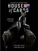 House of Cards: The Complete Second Season (DVD, 2014 4-Disc Set) FACTORY SEALED